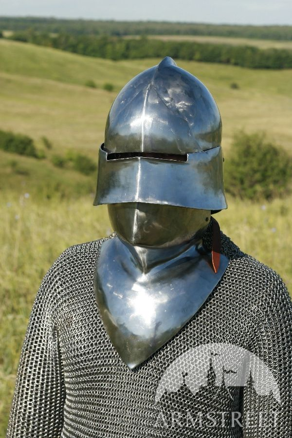 Medieval Helm Sallet Sca Armour Sca Helm For Sale