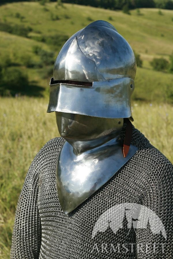 Medieval helm, sallet, SCA armour, SCA helm for sale ...
