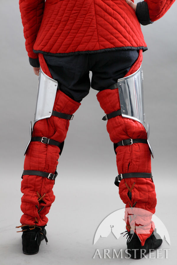Medieval Combat Leg Legs Armor With Cuisses For Sale