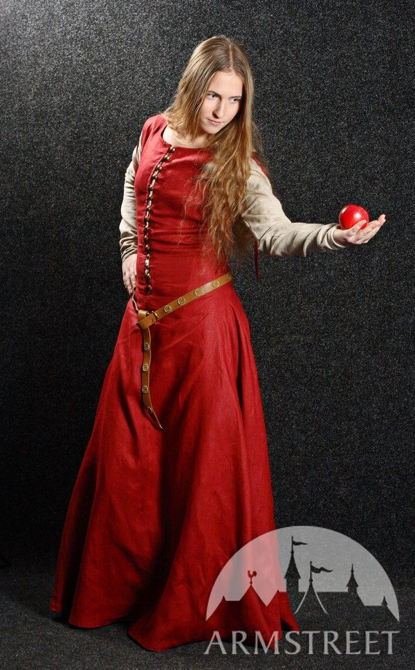 Medieval Dress With Detachable Sleeves Quot Medieval Dream