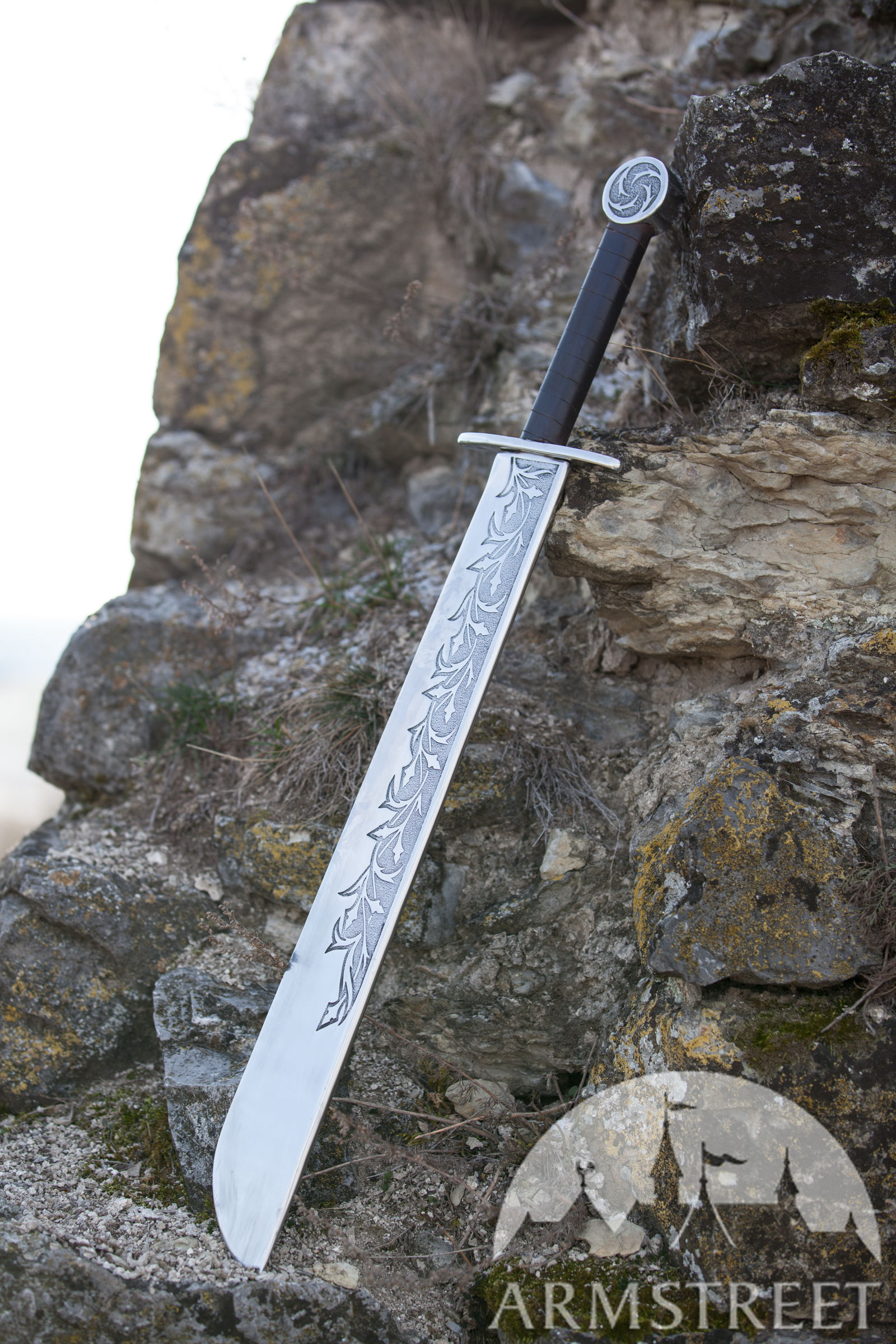 "Medieval Falchion ""Hound Of War"""