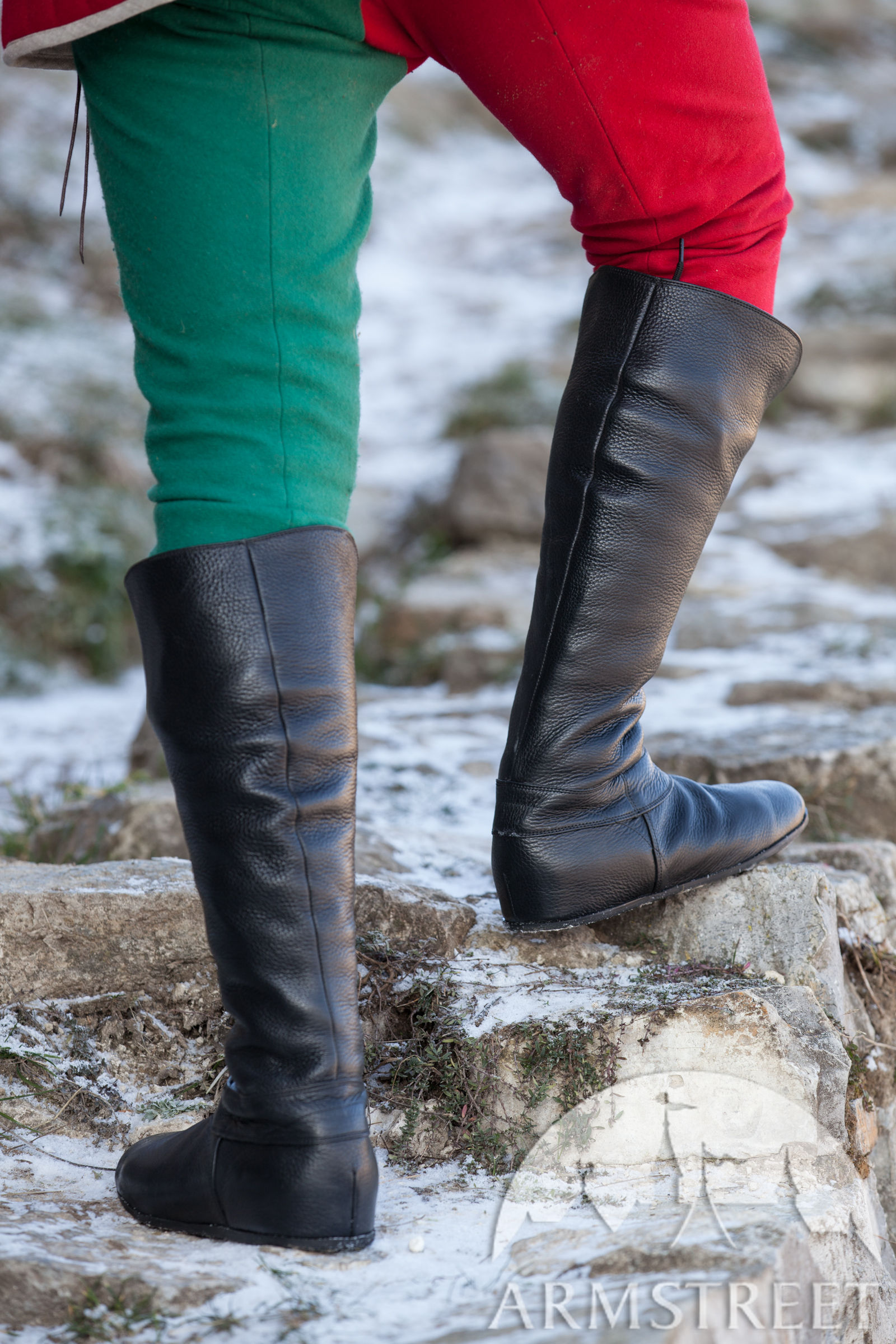 Medieval Fantasy High Boots Quot Forest Quot For Sca And