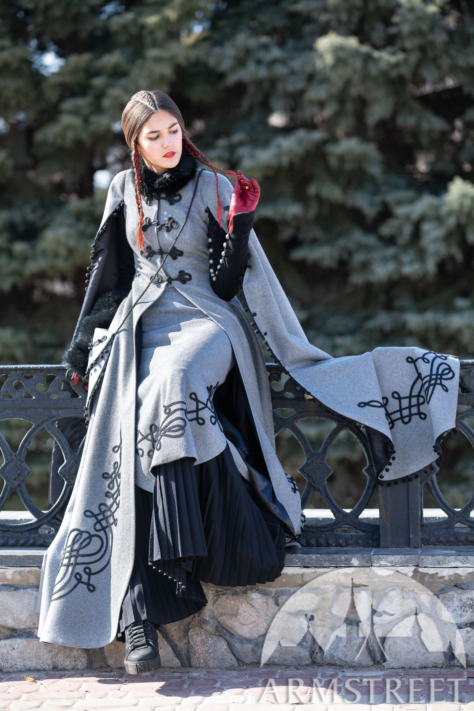 Amazing New Collection Medieval Fantasy Wool Lining Coat