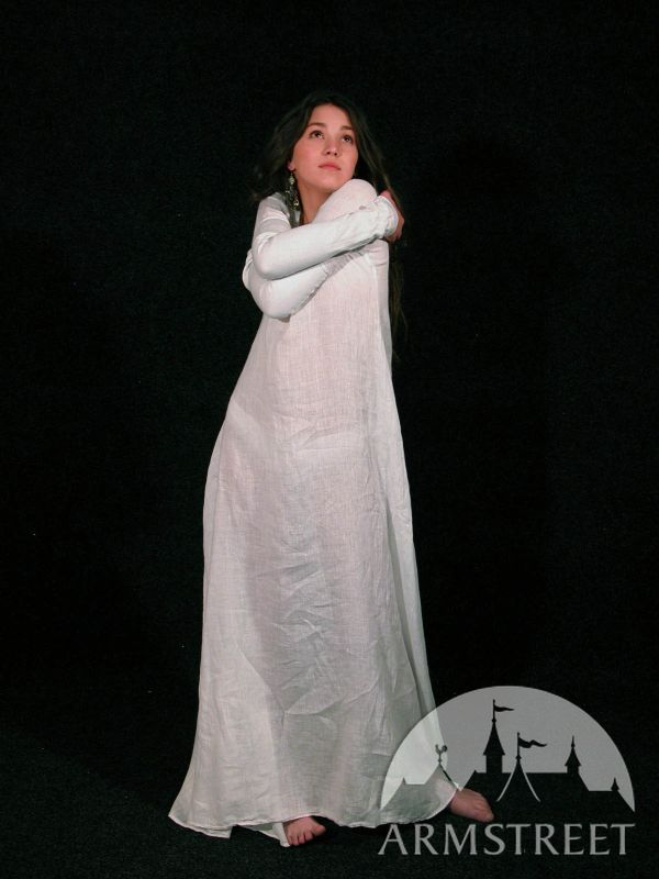 classic medieval chemise    extra quality shining flowing  flattering