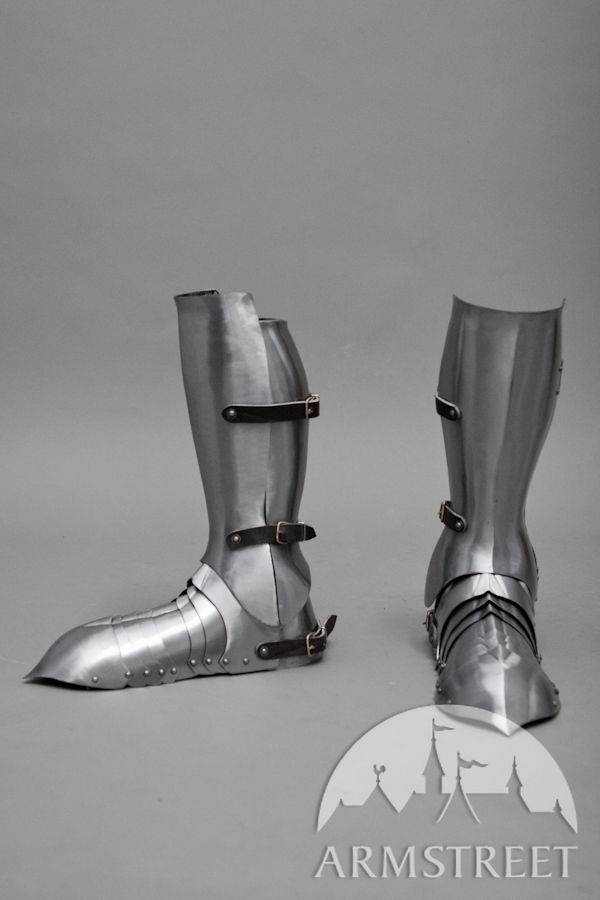 Generation II ArmStreet's Medieval Armor Greaves and Sabatons