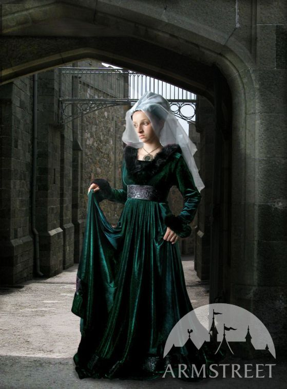 This Medieval Gothic Renaissance Dress Is Made In