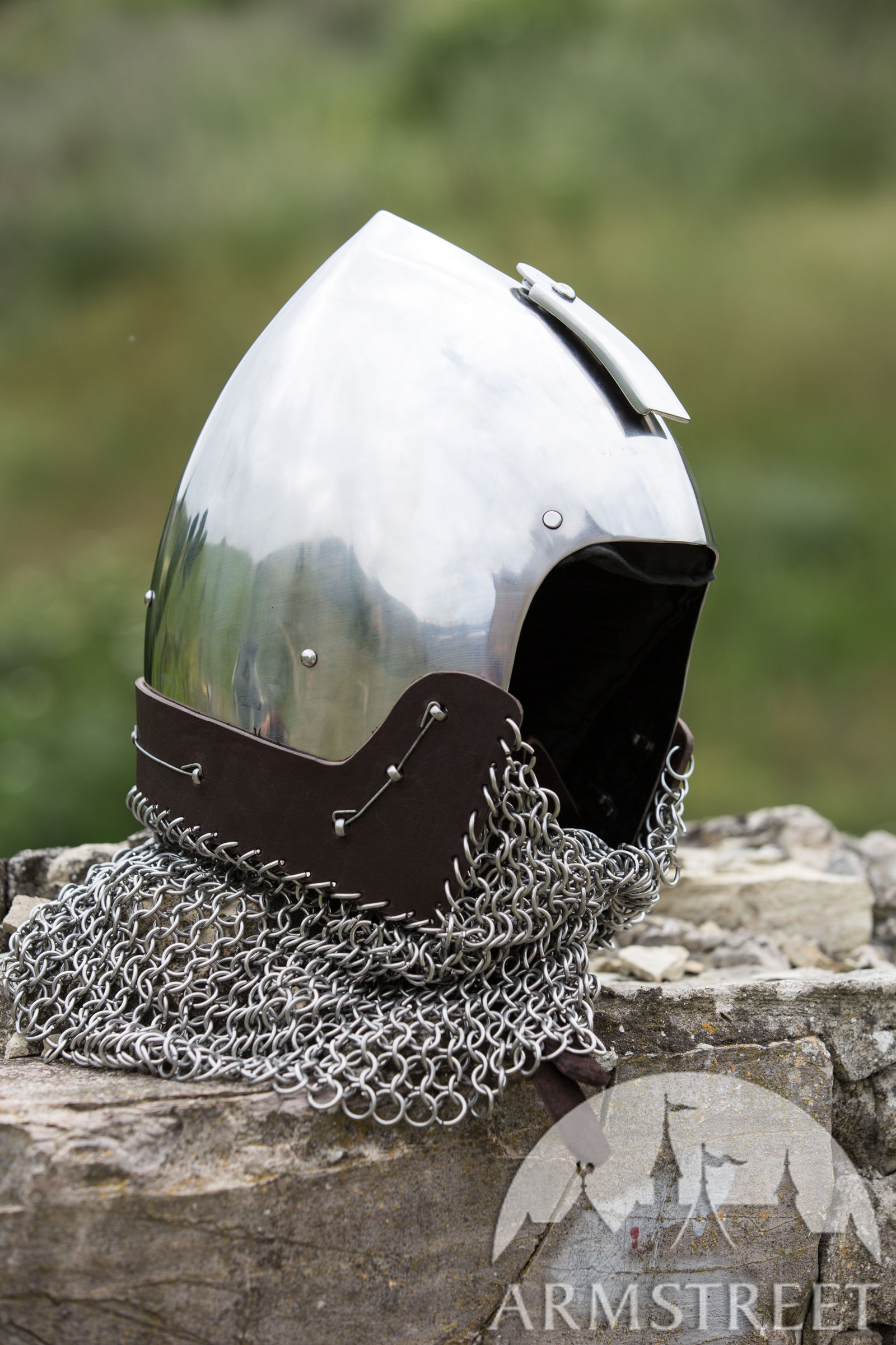 Medieval Helmets in our Middle Ages store ageofcraftcom