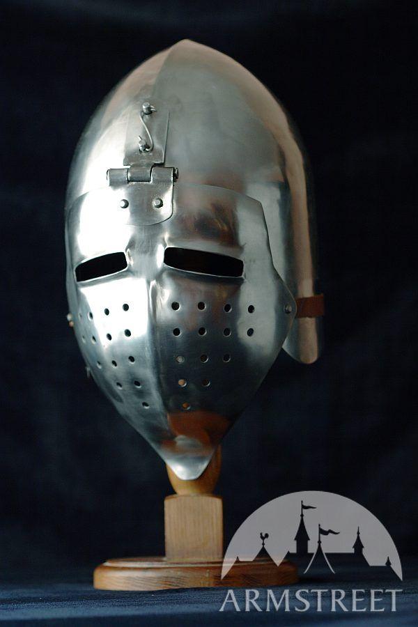 Crowns For Sale >> helmet, bscinet helmet, klappvisor bascinet helmet, SCA helmet for sale :: by medieval store ...
