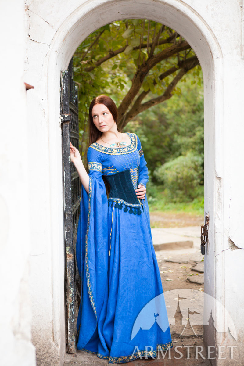 Halloween Costume Blue Dress