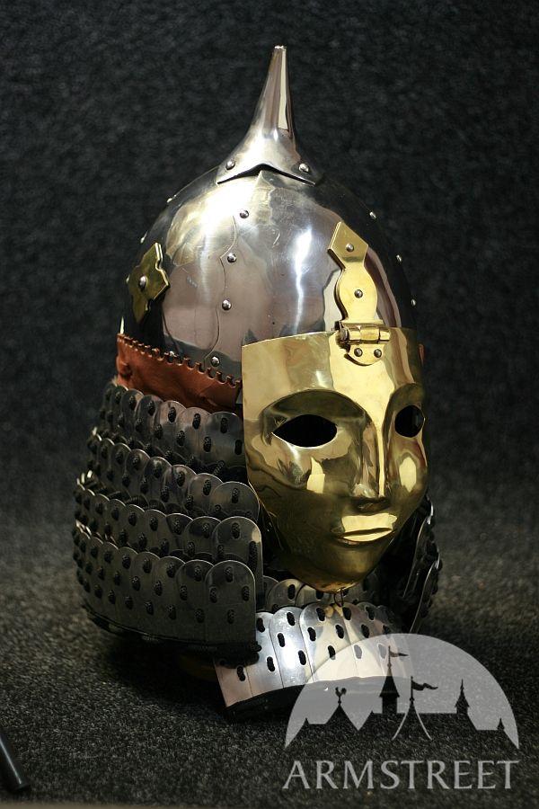 Medieval Cone Slavic Rus Helmet Armor For Sale By