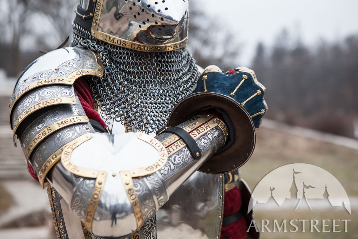 Medieval Western Sca Plate Armor Kit Available In