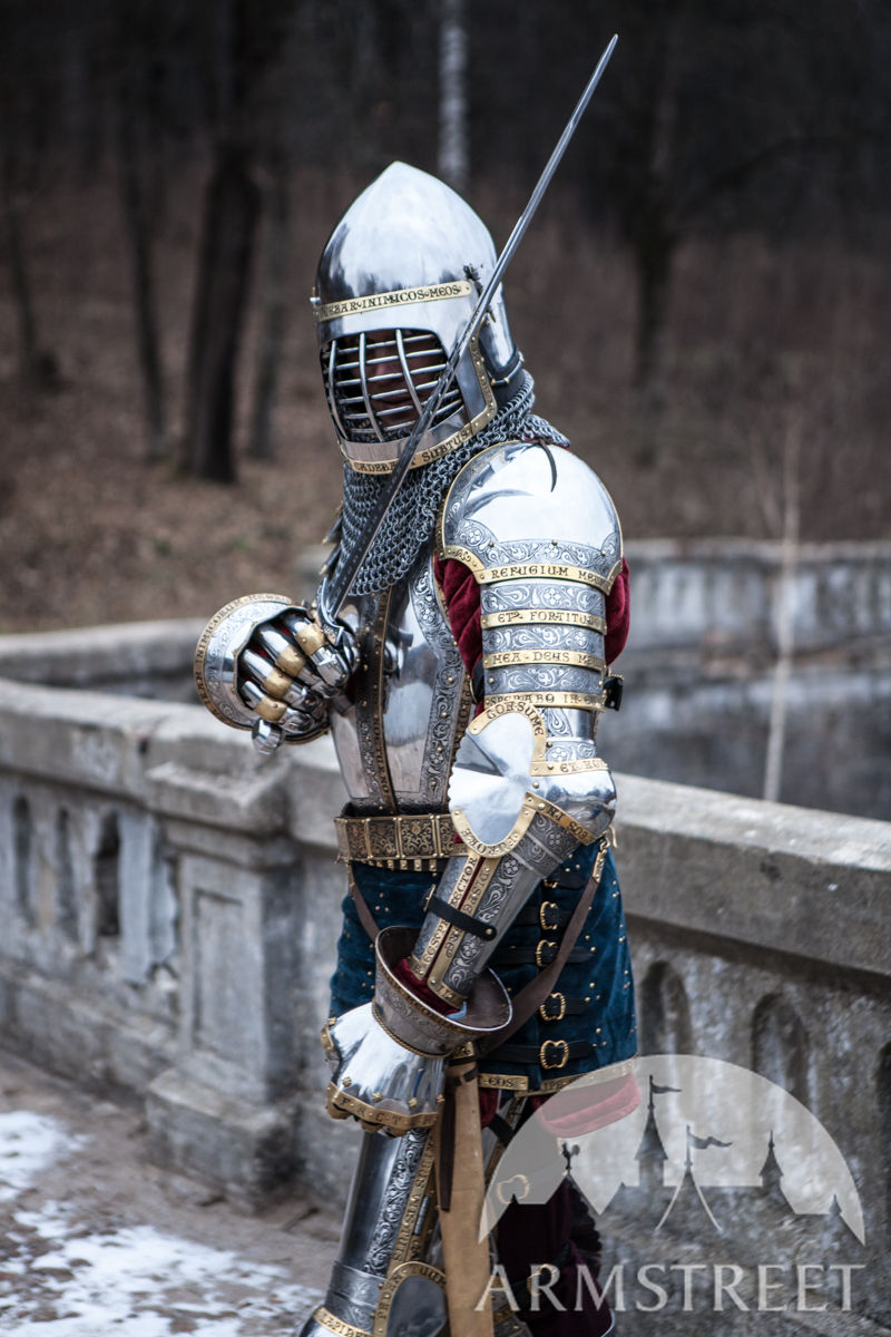 Medieval Western SCA Plate Armor Kit. Available in ...