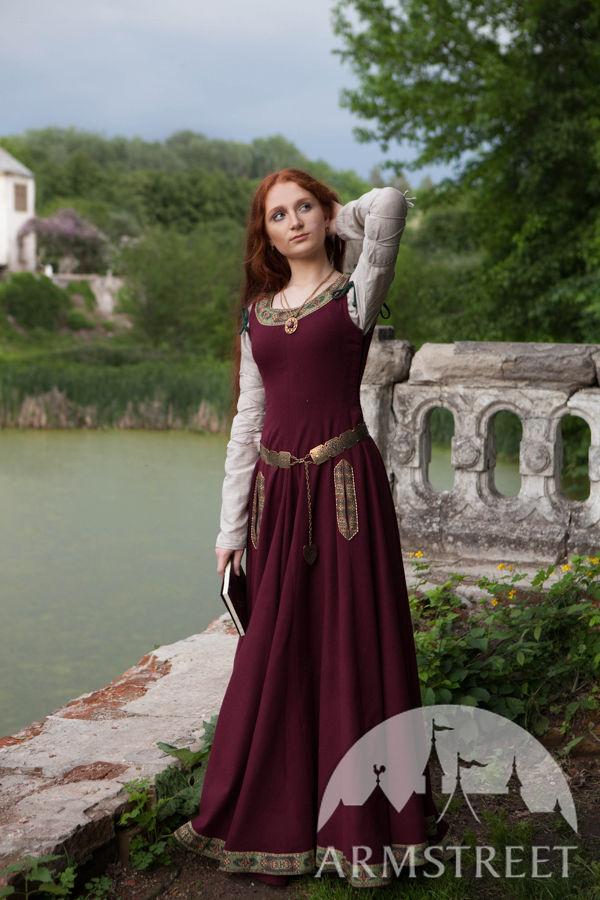 Medieval Dress U201cGreensleevesu201d For Noblewomen . Available ...