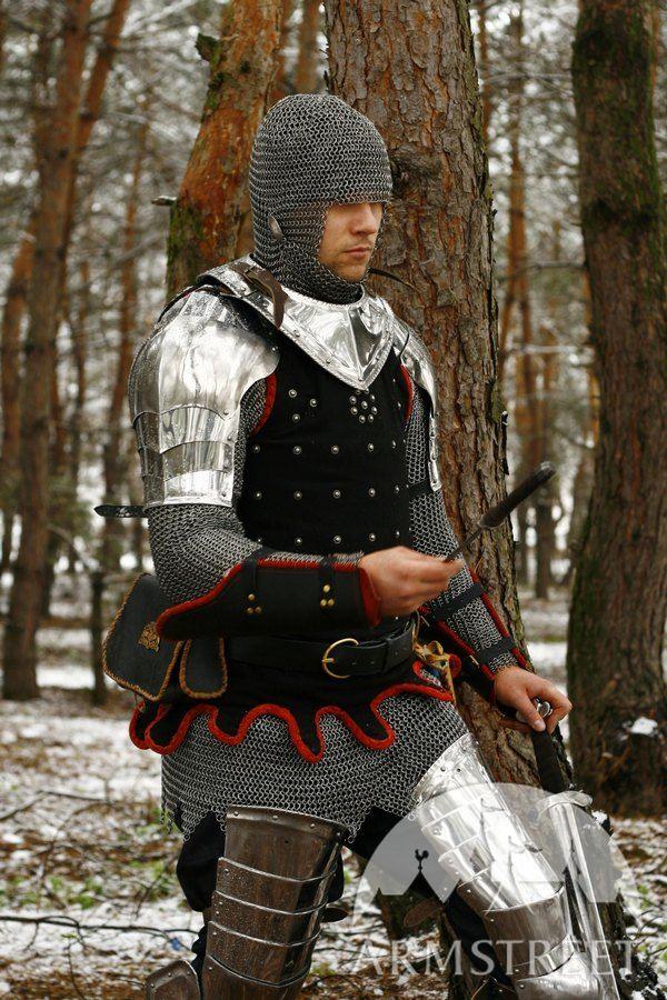 Medieval Combat Sca Reenactment Brigandine Wisby 24 For