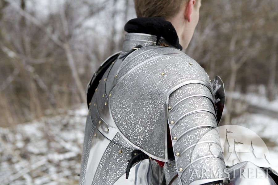 Paladin Knight Armor Kit Etched Stainless