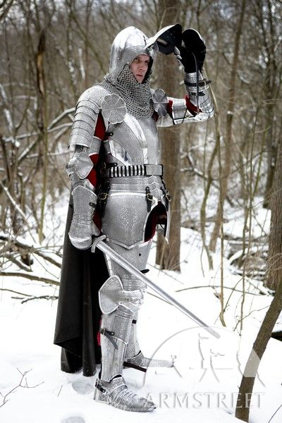 Steel Plate For Sale >> Armor knight paladin medieval SCA armour kit for sale. Available in: stainless :: by medieval ...