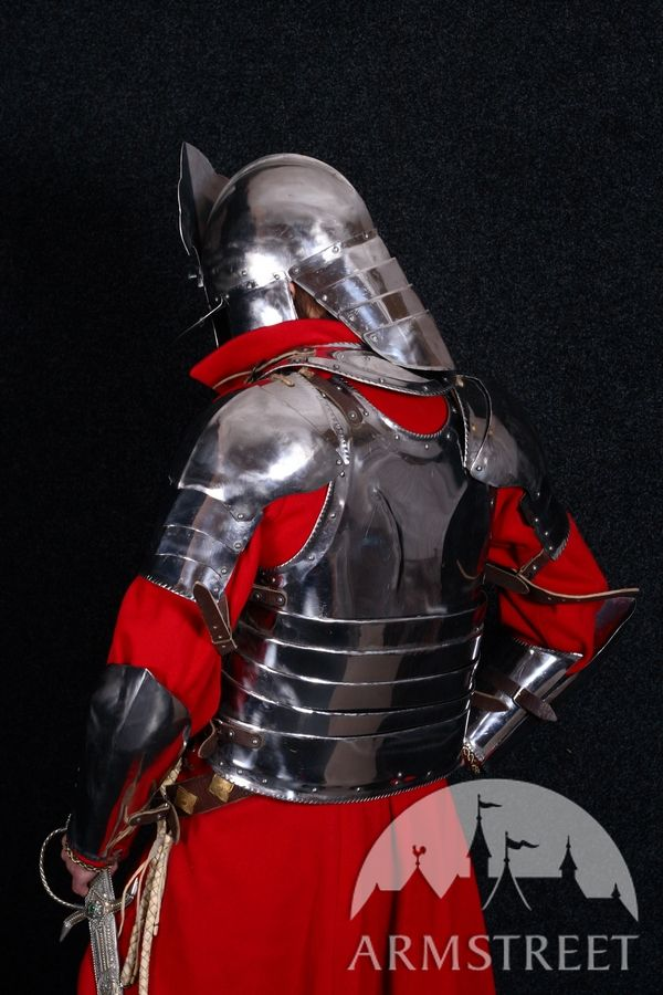 combat 16 ga stainless steel hussar knight armor suit for