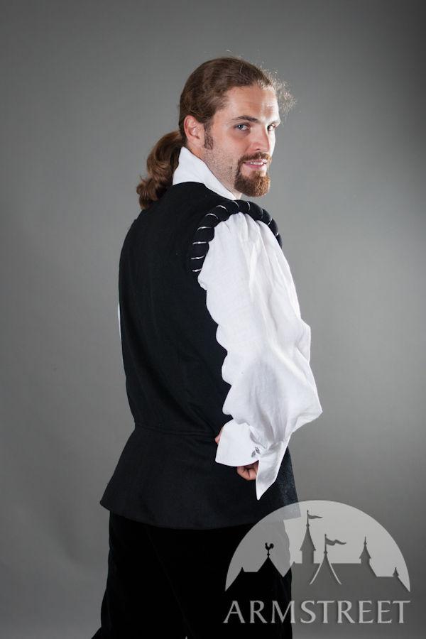 Renaissance Medieval Noble Shirt And Vest Set Quot Chevalier