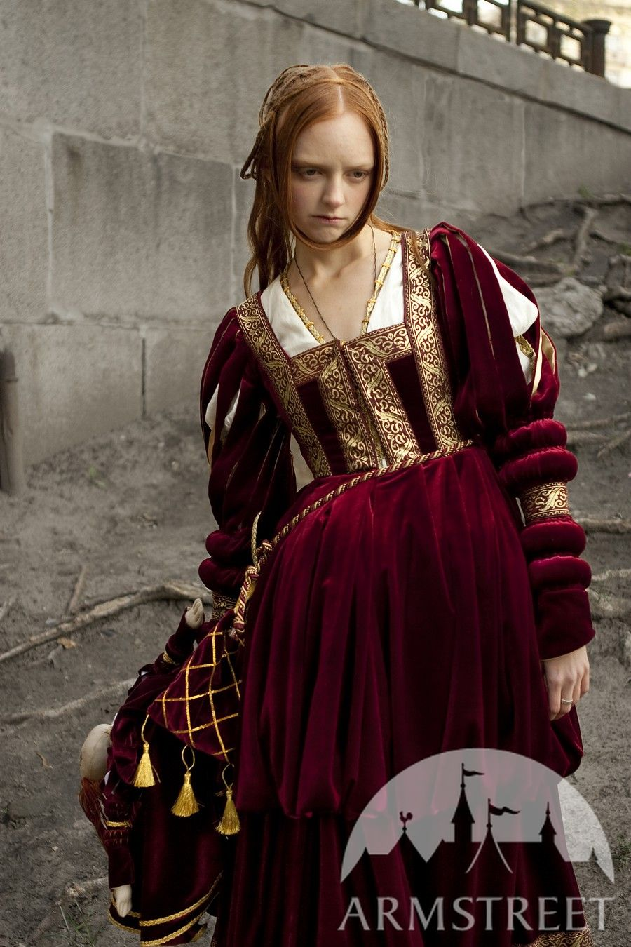Renaissance dress for Queen or Princess character garb for sale ...