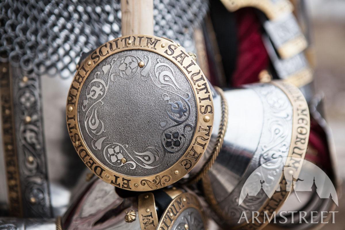 Rondelle Plates For Medieval Finger Gauntlets Available