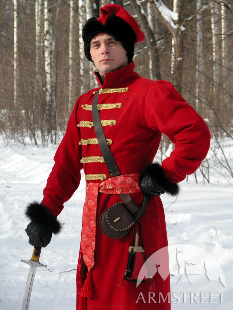 Traditional russian &quotStrelets&quot coat - for sale :: by medieval