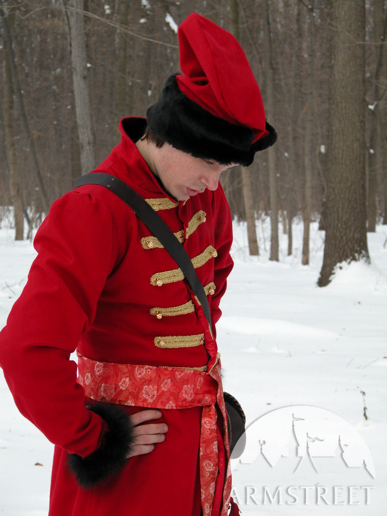 "traditional russian ""strelets"" coat  for sale available"