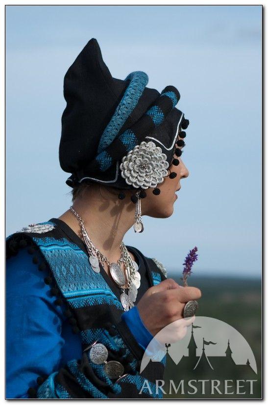 Sarmatian Fantasy Medieval Headpiece for sale :: by