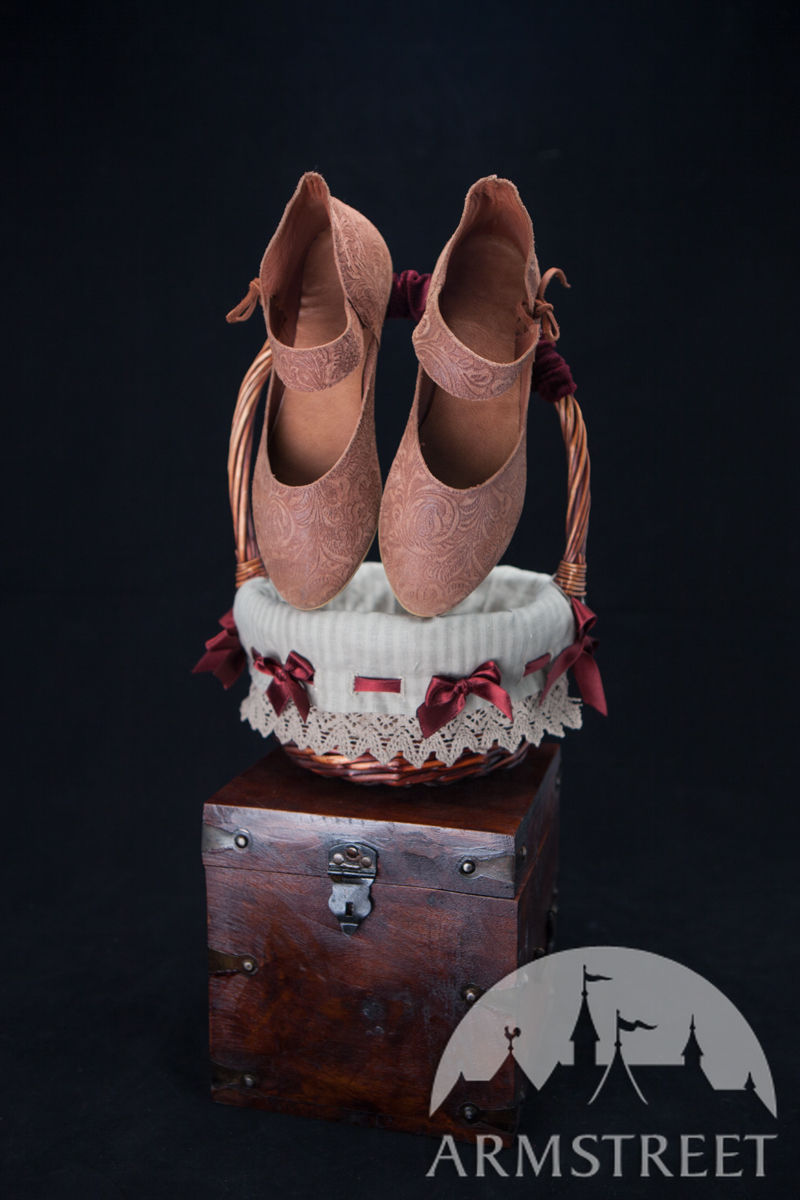 3607d57b022ab Shoes Medieval Leather Women's Lightweight