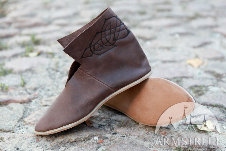 Short Celtic Medieval Shoes