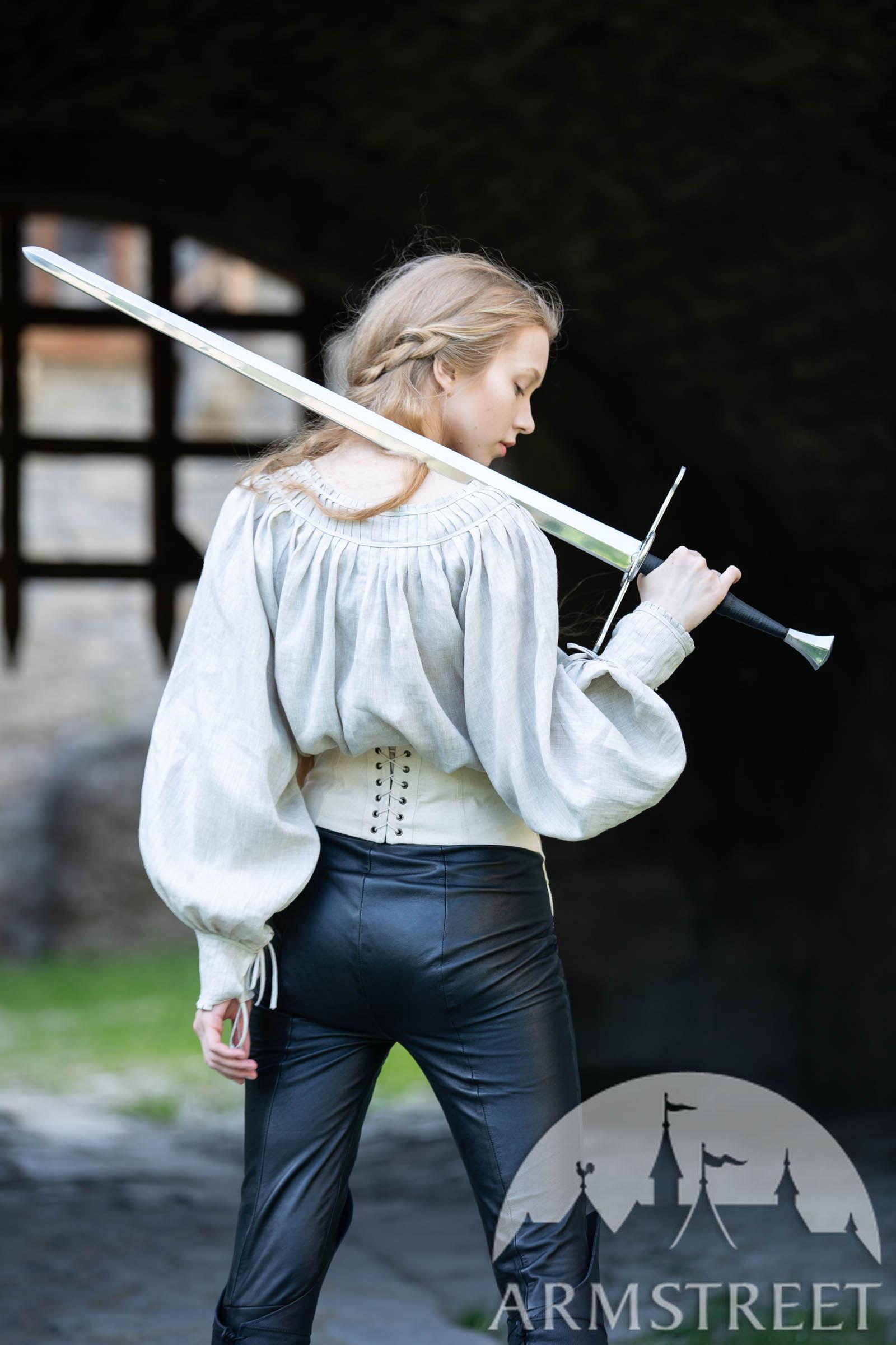 Short Medieval Linen Women S Shirt For Sale Underwear