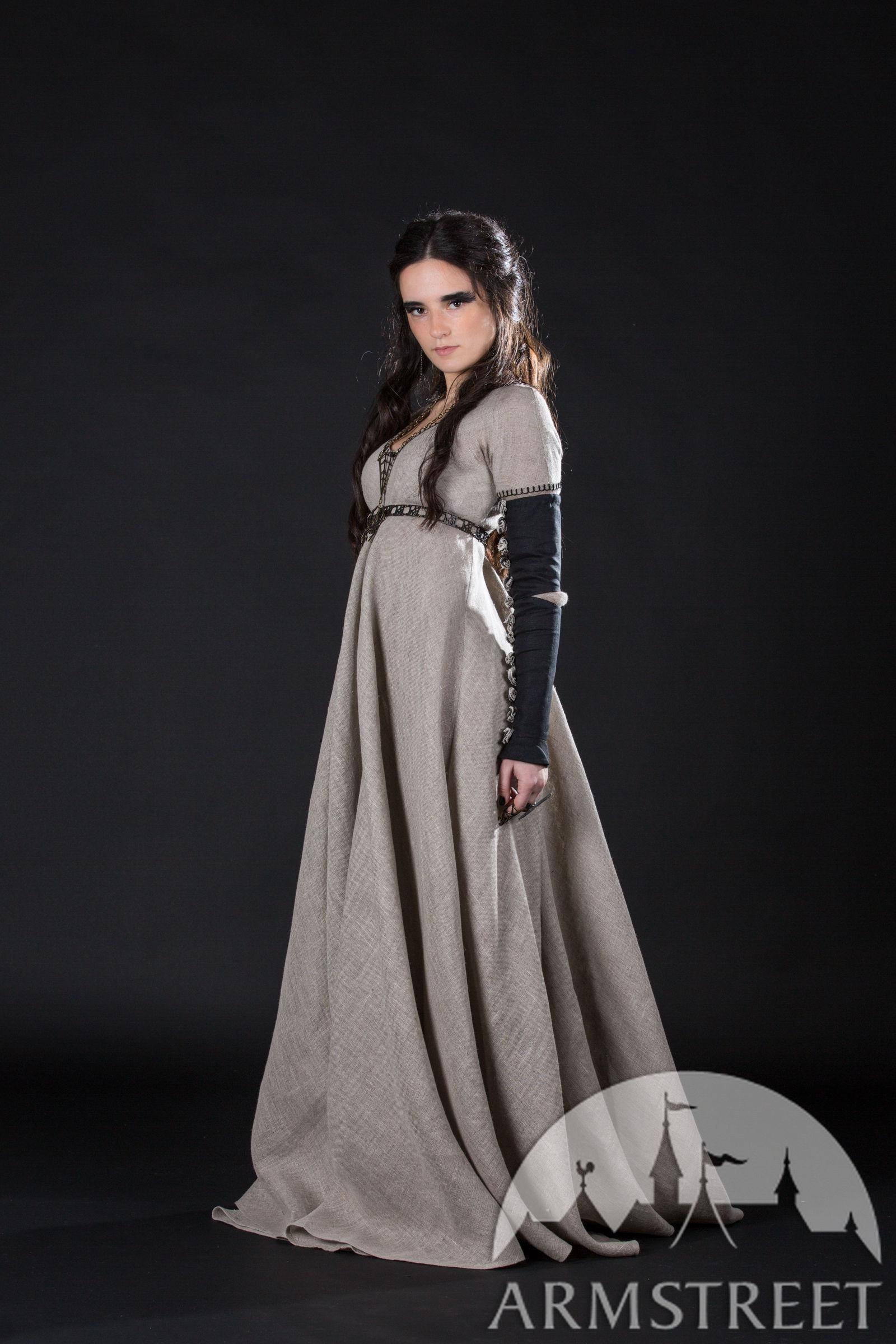 c8588294ebf Sackcloth dress with oversleeves
