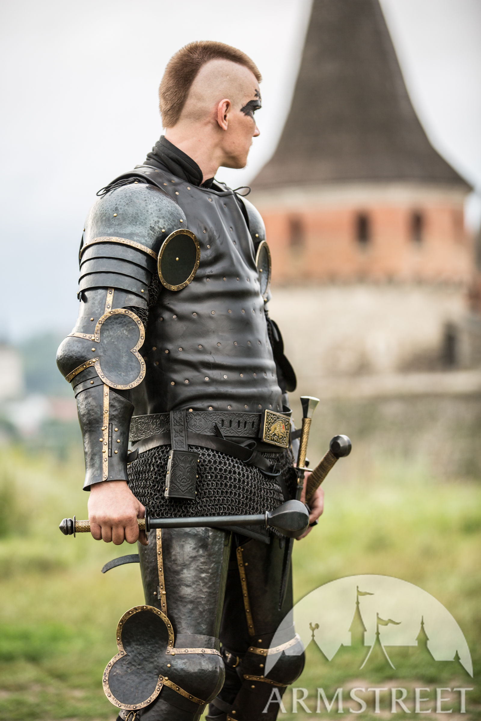 Visby Style Coat Of Plates The Wayward Knight For Sale -2719