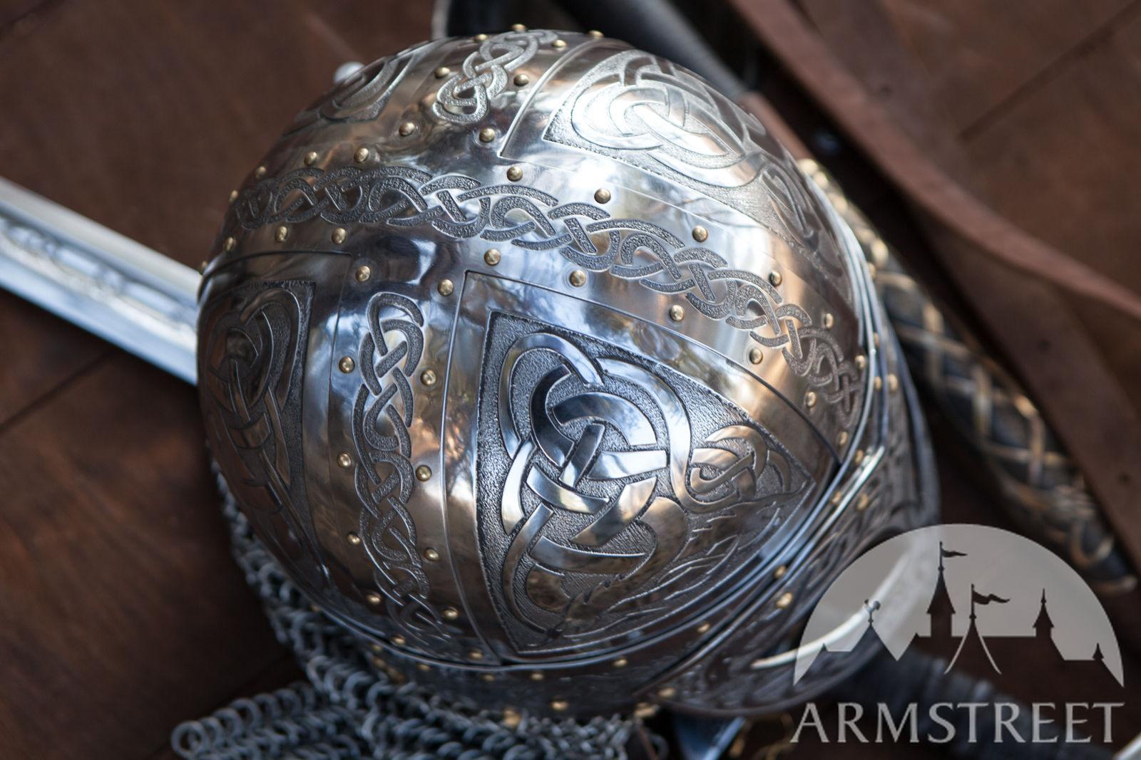 Exclusive Viking S Valsgaarde Stainless Steel Helm