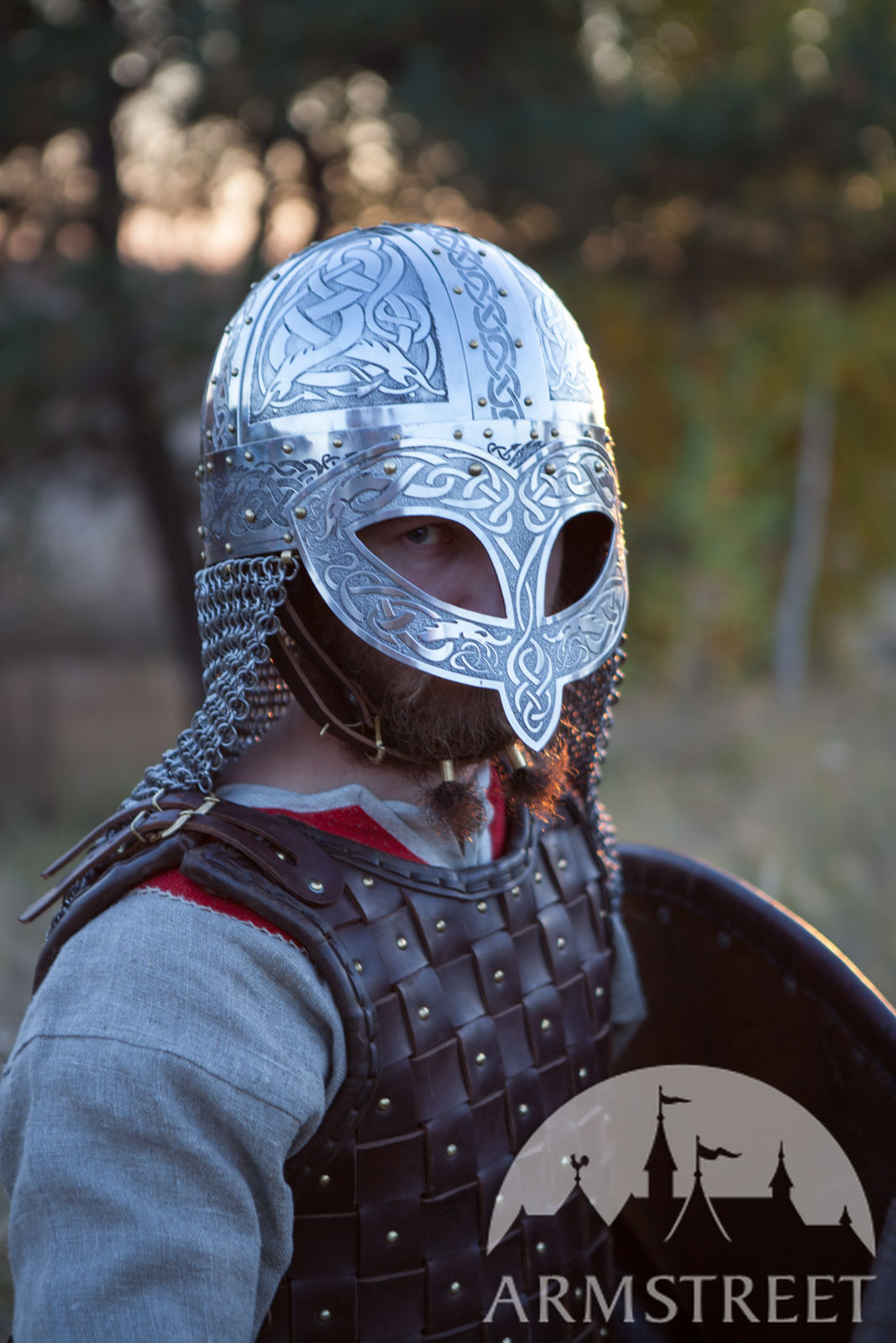 Exclusive Viking's Valsgaarde Stainless Steel Helm ...