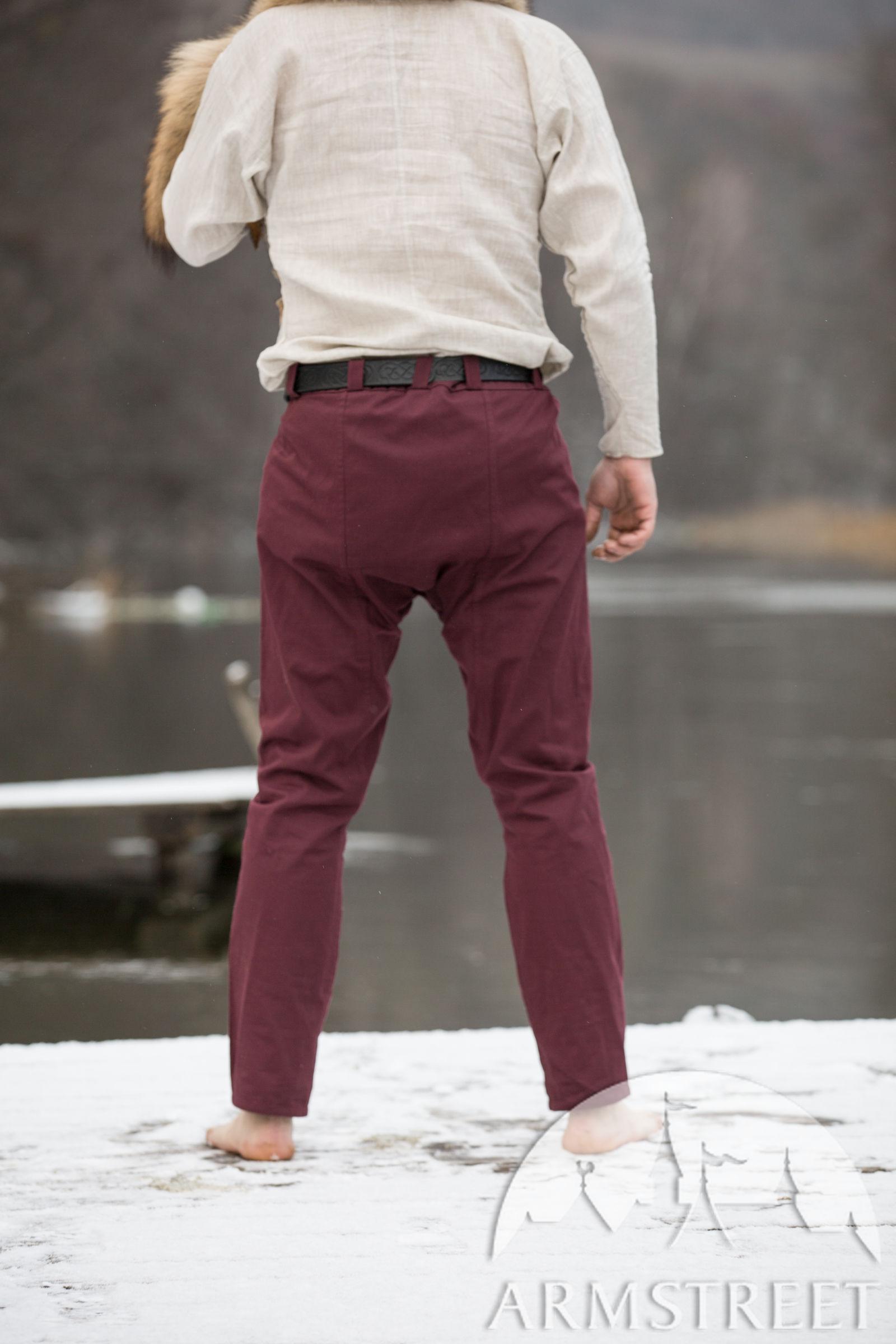"Cotton Viking Pants ""Knut the Merry"""