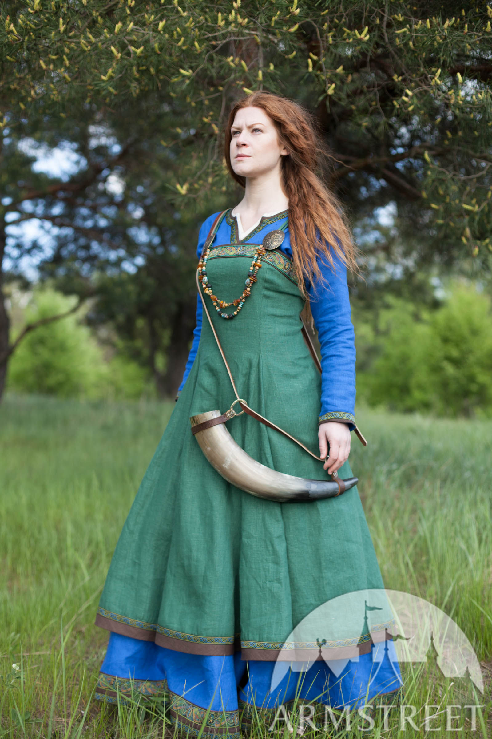 Brilliant Viking Dress  NordicVikingRus  Pinterest  Vikings Viking Dress