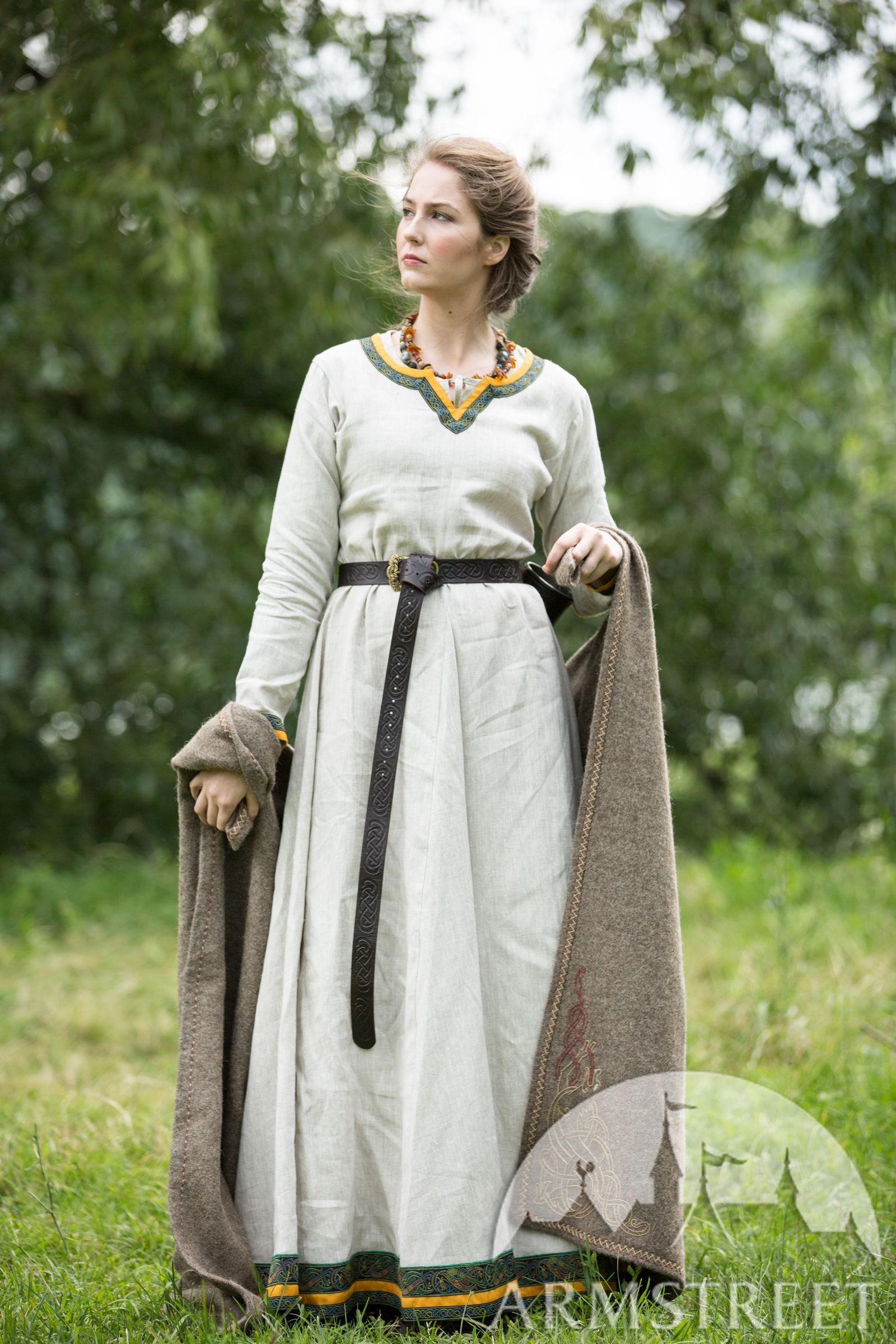 3852d85e90f Viking Linen Dress