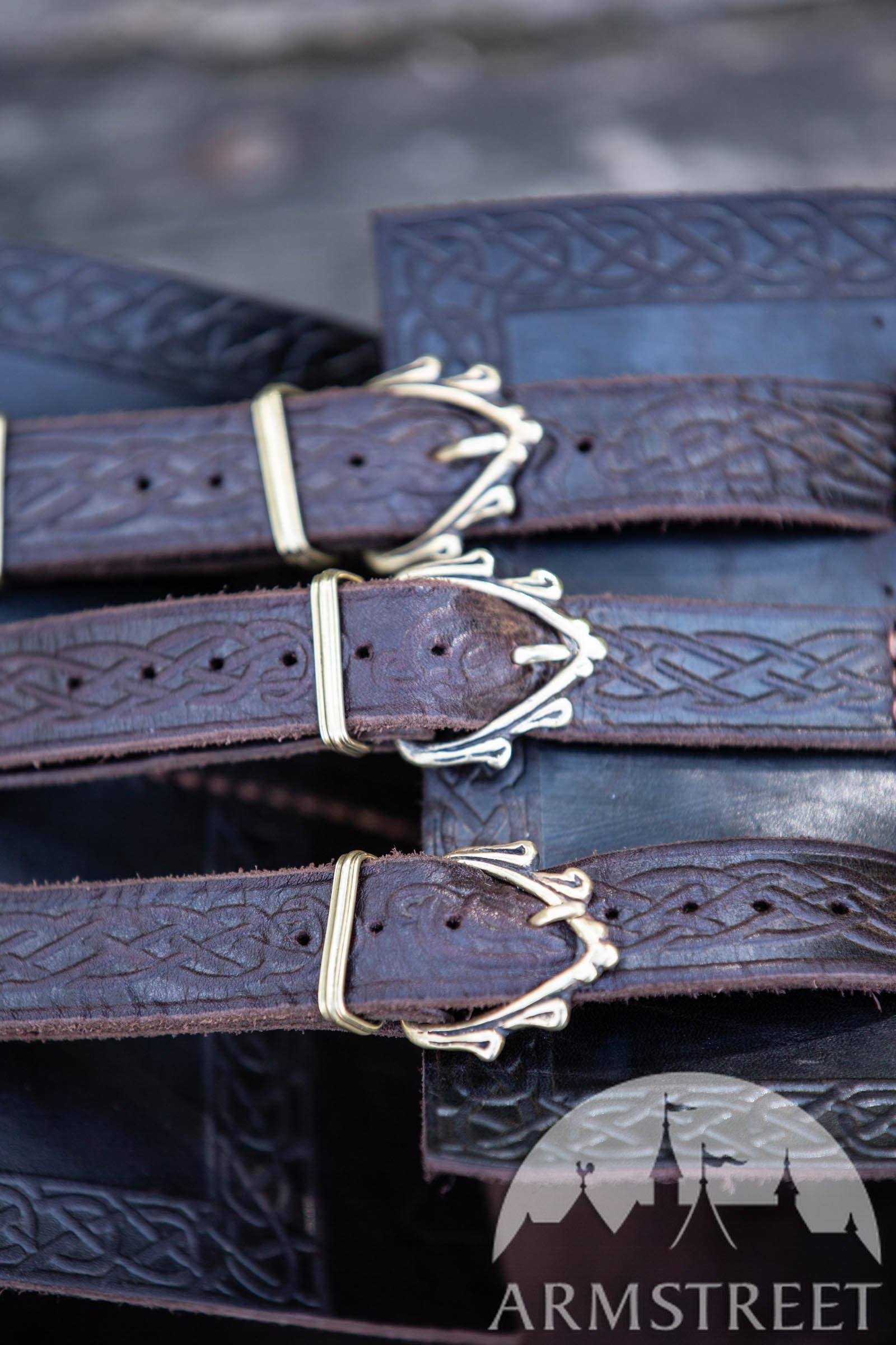 knights 4x Belt Romans Vikings maroon nubsi Rear Knight Belt Soldiers