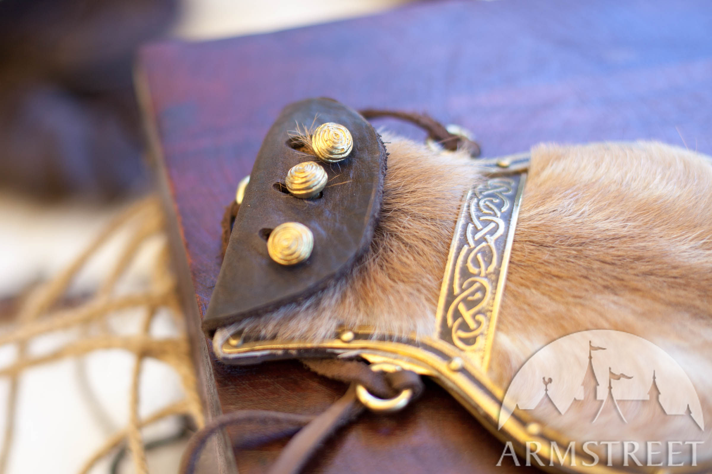 Turkey For Sale >> Viking's Leather Pouch. Available in: brass :: by medieval store ArmStreet