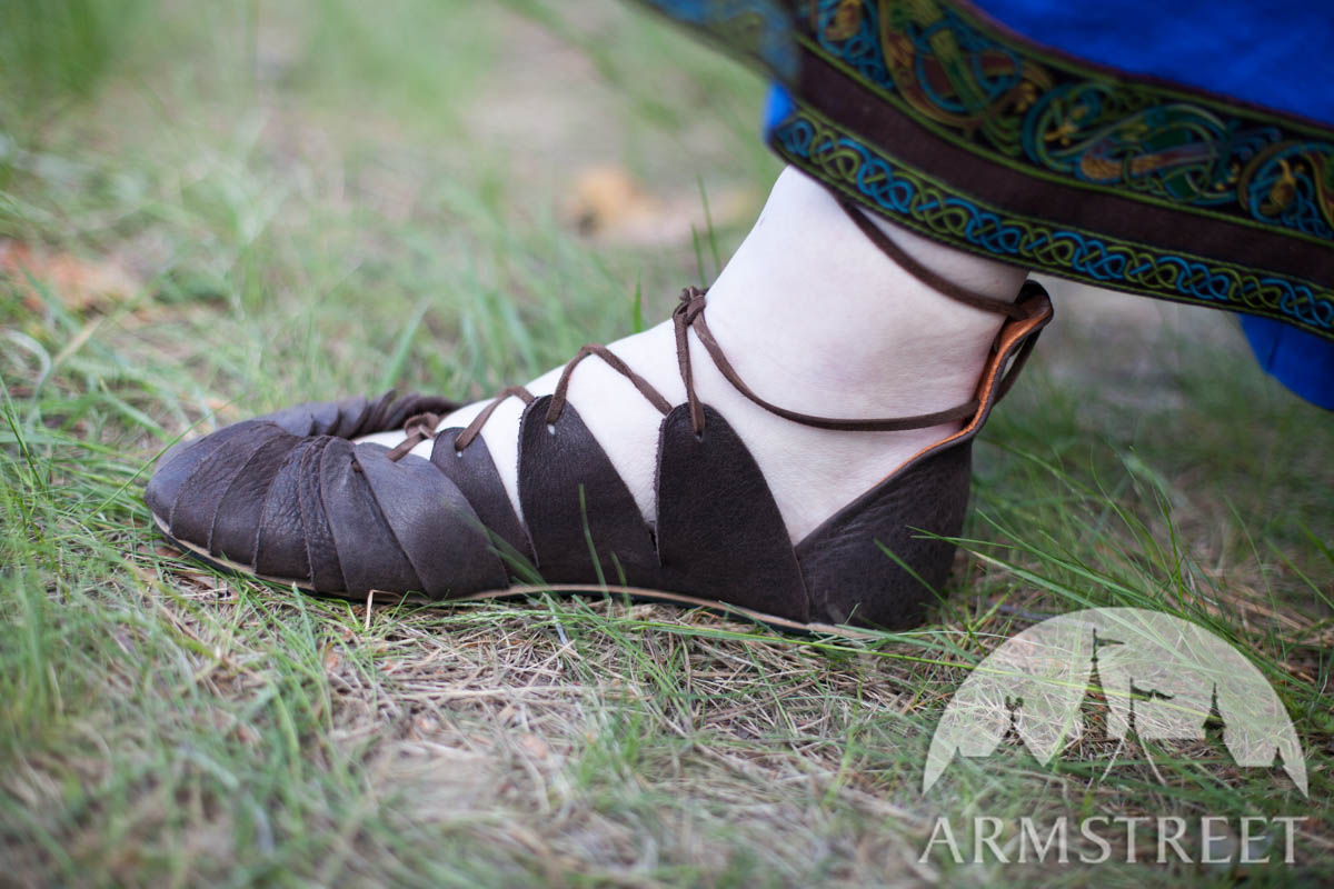 Viking S Leather Sandals Ingrid Available In Brown