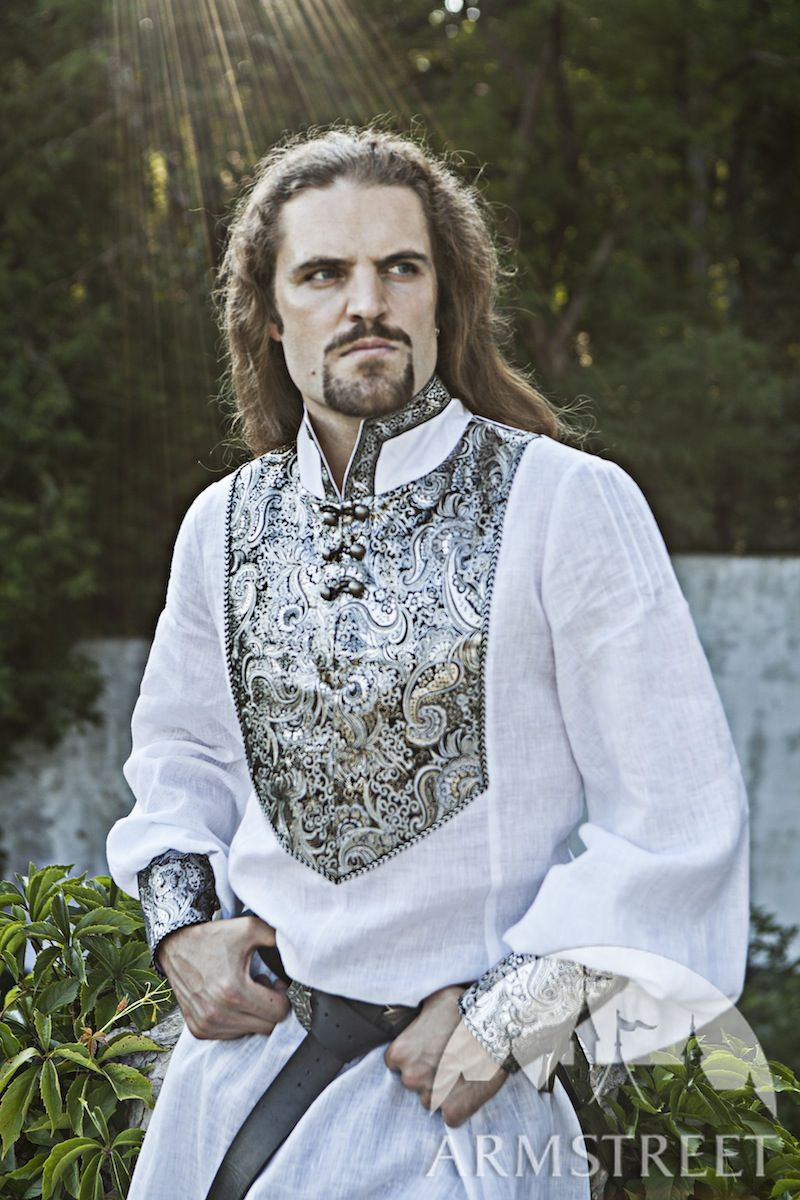 Medieval Wedding Men S Shirt Available In Black Fine