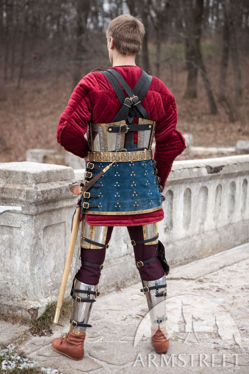"Brigandine armor skirt ""The King's Guard"""