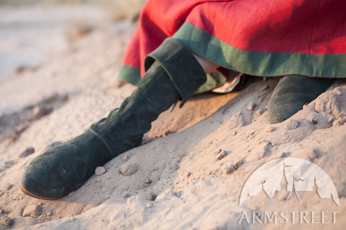 "a1fda046ab6bd Women's Fantasy Suede Boots ""The Alchemist's Daughter"""