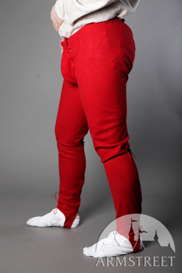 Medieval Renaissance Chausses Woolen Pants For Sale