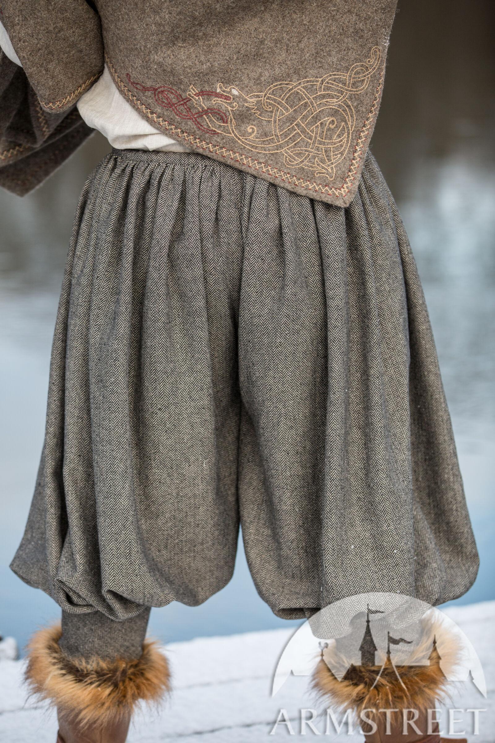 Wool Blend Viking Pants Olegg The Mercenary For Sale
