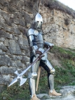 "SCA armor ""Knight of Fortune"" Circa XIV"