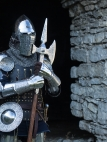"Wearable armor with brigandine ""Knight of Fortune"""