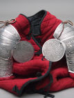 Spaulders Pauldrons Medieval Armor for SCA and reenactment knight