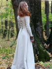 "Classic Medieval Tunic with Lacing ""Sunshine Janet"""