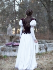 "Cotton Period Dress and Vest ""Found Princess"""